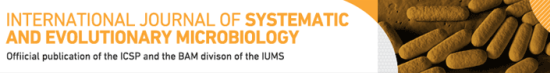 International Journal for Systematic and Evolutionary Microbiology