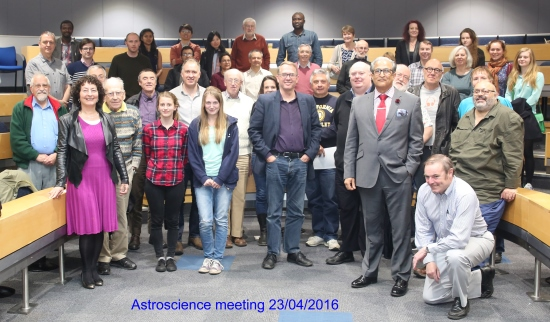 Astroscience-Meeting 2016