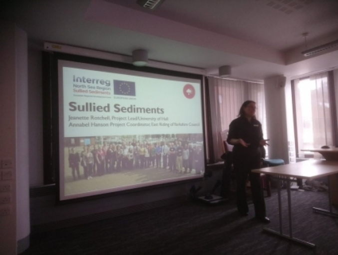 Professor Jeanette Rotchell introduces Sullied Sediments 678 510